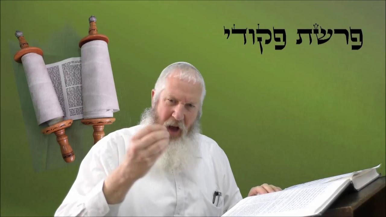 רגע של פרשה עם הרב אילן צפורי פרשת פקודי