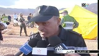 وفاة 12 شخص في انقلاب حافلة بسبب الفيضانات نواحي الراشيدية