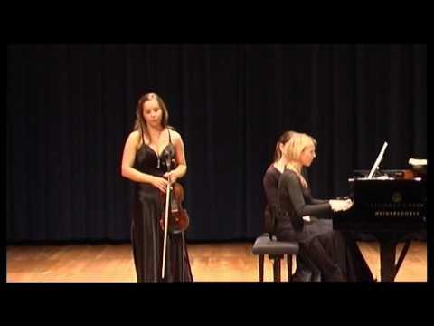 Waxman Carmen Fantasie - Sophie Moser and Katja Huhn