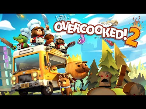 Overcooked! 2 - Announcement Trailer (Steam, Nintendo Switch, PlayStation 4, Xbox One)