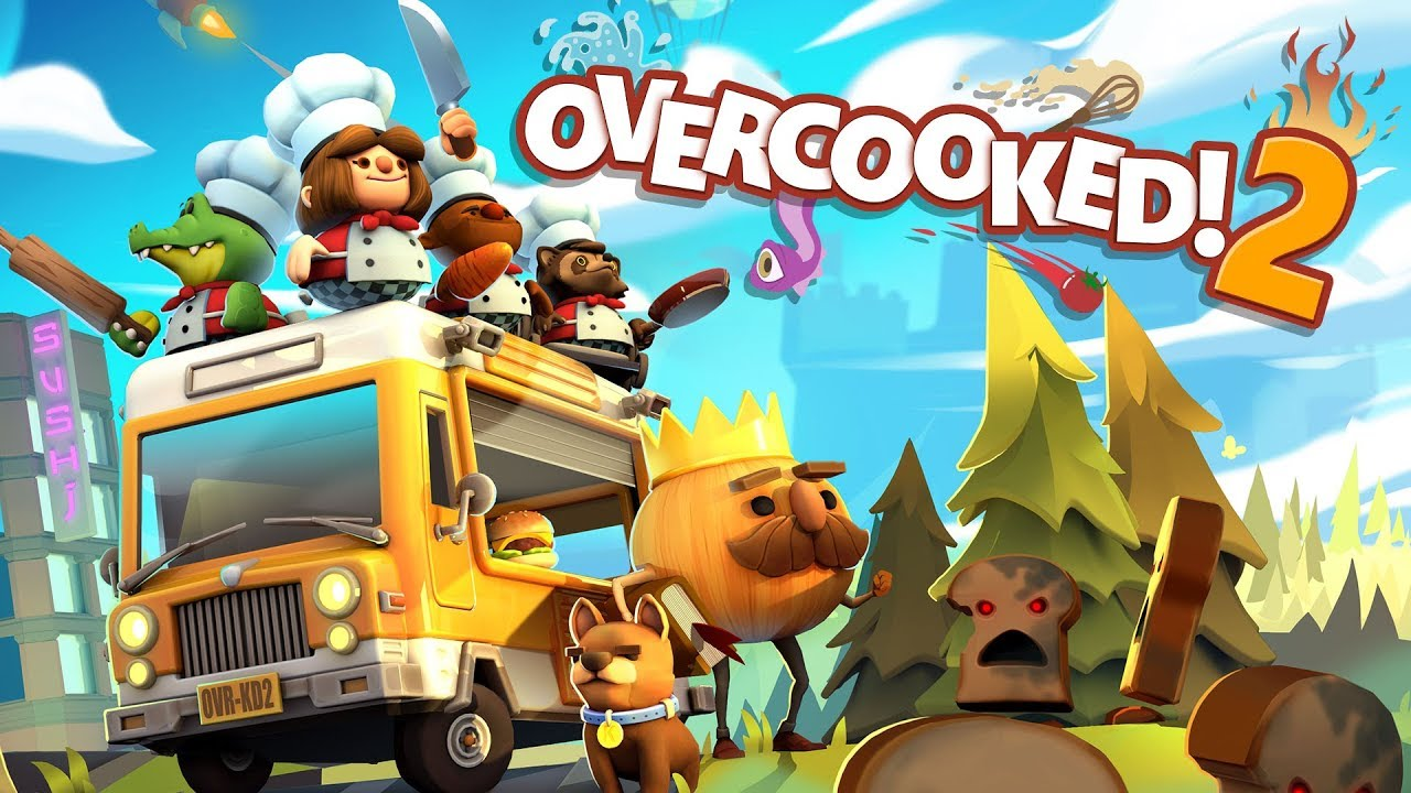 Overcooked! 2 - Announcement Trailer (Steam, Nintendo Switch, PlayStation 4, Xbox One) - YouTube