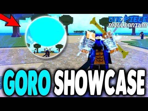 New GORO GORO DEVIL FRUIT   One Piece Millenium New Devil Fruit in Roblox   iBeMaine