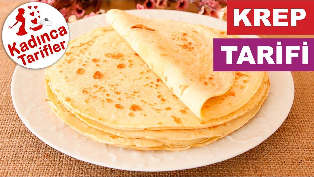 Kahvaltılık Krep Tarifi Videosu