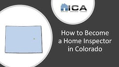 How to Become a Home Inspector in Colorado - Colorado Home Inspection Certification