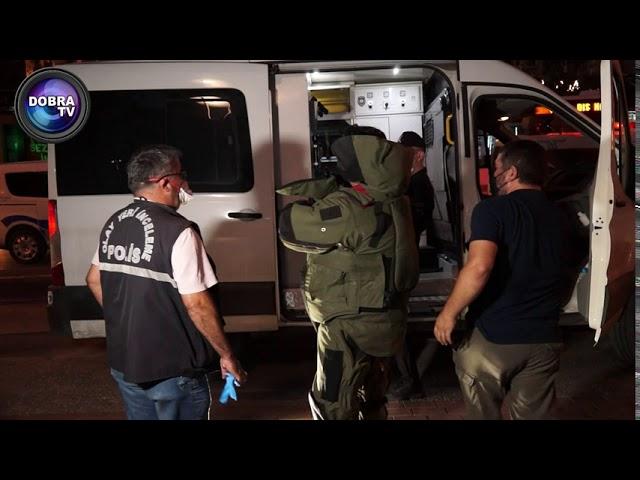 #SonDakika... Bursa da Şüpheli Paket bomba imha ekiplerinin Müdahale görüntüleri