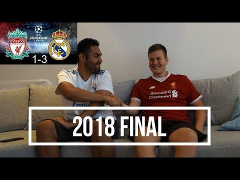 Real madrid v liverpool (champions league final 2018) live fan reaction