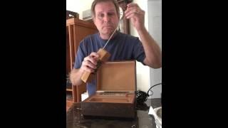 Vintage Portable Phone 1980 DECO-TEL Cordless Phone