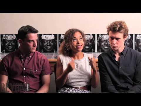 Antonia Thomas, Kevin Guthrie, & George MacKay talk