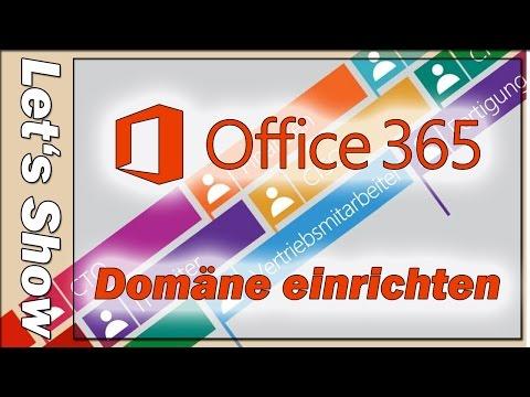 [VT-Tech] Office 365 - Domäne einrichten [deutsch]