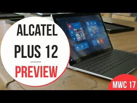 Anteprima Alcatel Plus 12 -  MWC 2017