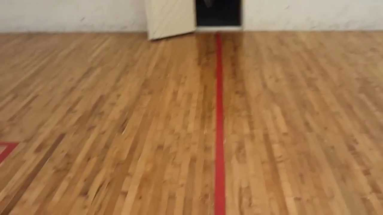Charlotte Country Club Squash Court Pt  After Hardwood Floor - Hardwood floors charlotte nc