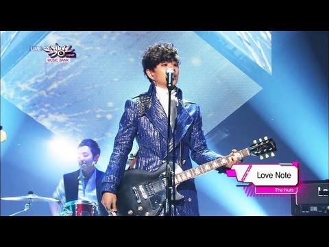 [Music Bank W/ Eng Lyrics] The Nuts - Love Note (2013.03.16)