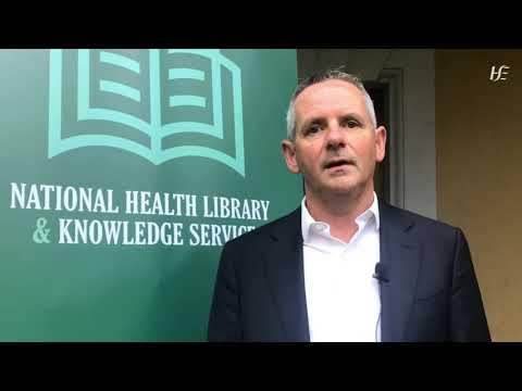 National Health Library Strategy: a message from Paul Reid CEO