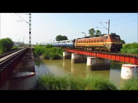Fastest, Superfast & Express Trains New Delhi - Ambala ! Part I