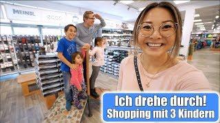 Shopping Tag mit 3 Kindern 🤪 Einkaufen für die ganze Familie! Mama VLOG | Mamiseelen