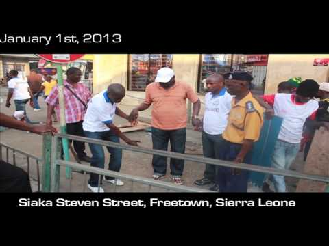 Freetown street trading(The End)