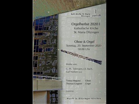 Orgel und Oboe 20 September 2020