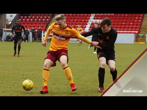 U20s HIGHLIGHTS | Motherwell 0-2 Dundee United