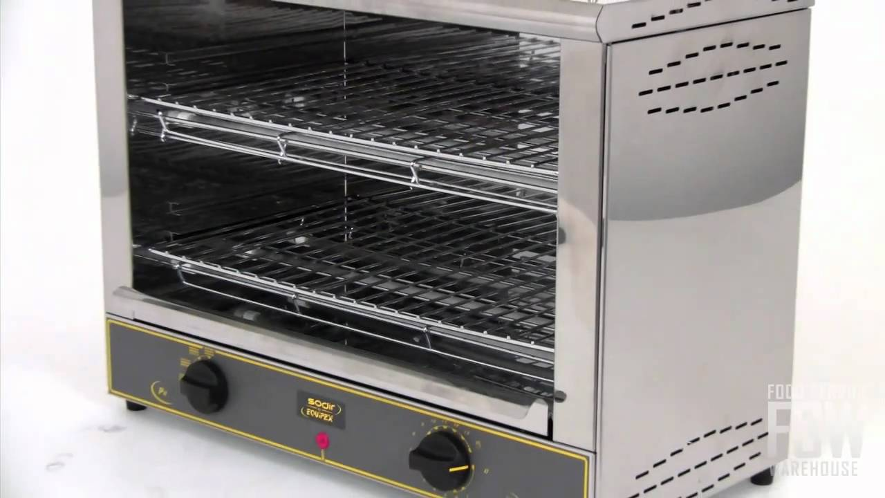 Equipex mercial Toaster Oven Video RST 227