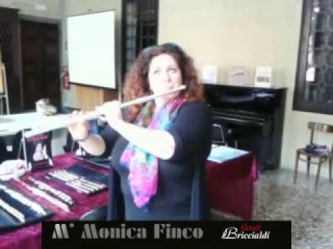 "<span class=""title"">Monica Finco Bach Bricialdi 9612 Flauto Flute</span>"