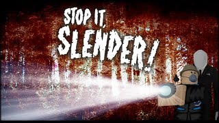 GamePlay - Stop it, Slender! 2- roblox 1080p