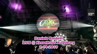 Daniele Baldelli LIVE @ Kesselhaus Augsburg - 9-15-2018 - From Cosmic to Cosmic Music DJ-Mix