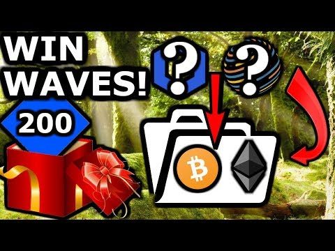 Crypto Portfolio Must Haves. $WAVES GIVEAWAY!!! 200 To 5 People + Merch