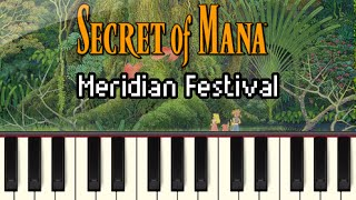 Meridian Festival - Secret of Mana [Synthesia]