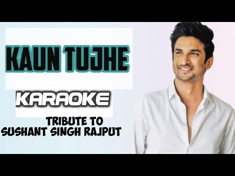 kaun-tujhe-yun-pyar-karega-||-karaoke-song-with-lyrics-||-m.-s.-dhoni-||-palak-muchhal