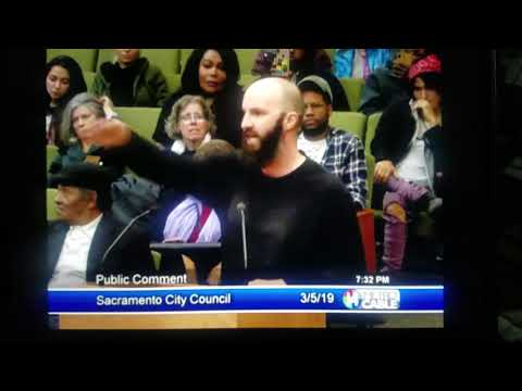 Sacramento City Council 05/05/2019 Stephon Clark
