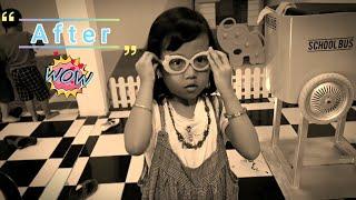 Vlog Aira Potong Rambut di Salon - Model Rambut Anak 2019 | Cute Kid With New Hair cut