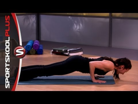 How to do a Yoga Plank Pose with Nancy Goodstein