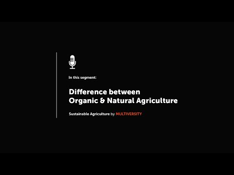 Difference between Organic & Natural Agriculture | Sustainable Agriculture | Mr. Subhash Palekar