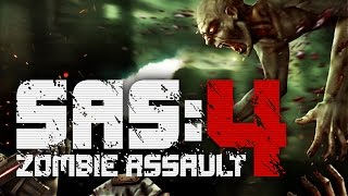 ZOMBIE PROBLEM! | SAS: Zombie Assault 4 - Gameplay!