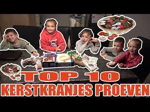TOP 10 KERSTKRANSJES PROEVEN!! - KOETLIFE VLOG