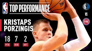 Porzingis Scores 18 PTS In Mavs NBA Preseason Debut | 2019 NBA Preseason