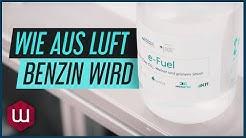 e-Fuels –Kraftstoff aus CO2, grünem Strom und Wasser