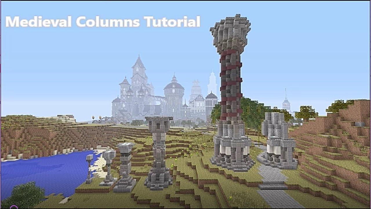 Minecraft Columns Tutorial Youtube