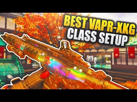 Crazy 43 KILLSTREAK using the Vapr XKG Assault Rifle in Black Ops 4