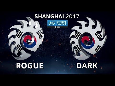 StarCraft II - Rogue vs. Dark [ZvZ] - Quarterfinal #3 - IEM Shanghai 2017