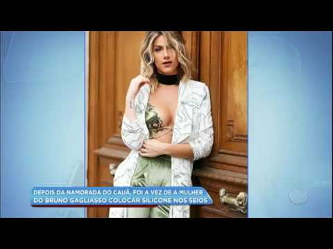 Hora da Venenosa: Giovanna Ewbank coloca silicone nos seios
