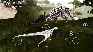 Симулятор ДИНОЗАВРА \ ДИНОЗАВРЫ ОНЛАЙН \ сражения динозавров \ Simulator DINOSAURS ONLINE game