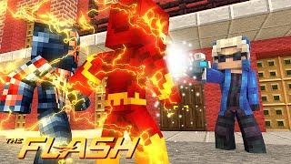 Minecraft : THE FLASH #9 - CAPITÃO FRIO VS FLASH E SPIDER-MAN