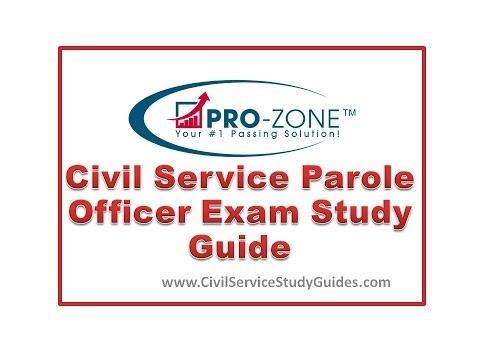 Civil Service Parole Officer Exam Study Guide