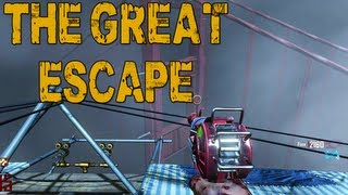 The Great Escape..fail - Mob Of The Dead W/ Nanners, Juice, & Jericho #5 (black Ops 2 Zombies)