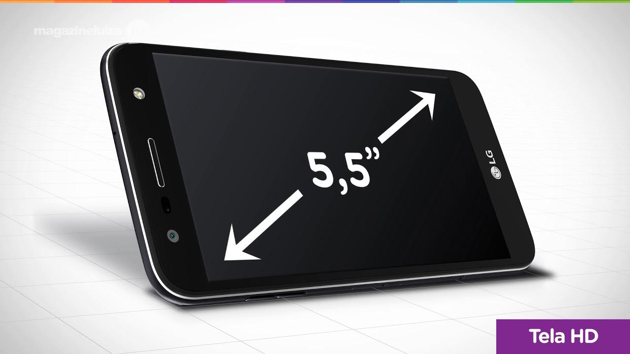 9f6f43cca Smartphone LG K10 Power 32GB Titânio Dual Chip 4G Câm 13MP + Selfie 5MP Tela  5 5 Proc Octa Core