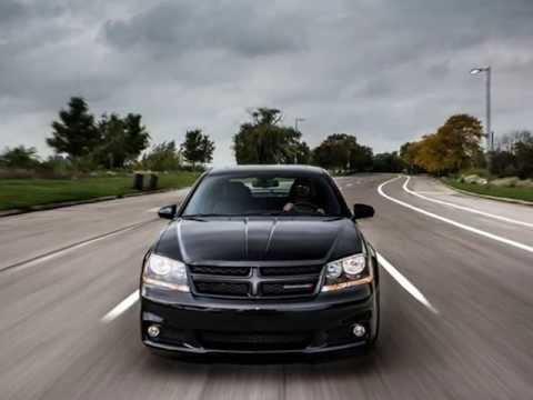 2013 Dodge Avenger Blacktop Edition Youtube