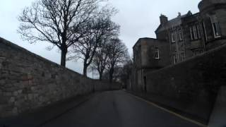 Boxing Day Drive Through The Pends St Andrews Fife Scotland