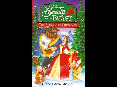 Opening To Beauty And The Beast: The Enchanted Christmas 1997 VHS (HQ)