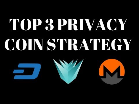 DASH, MONERO, VERGE | TOP PRIVACY COIN LIVE INVESTMENTS